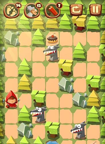 Rätsel Bring me cakes: Little Red Riding Hood puzzle auf Deutsch
