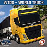 World truck driving simulator Symbol