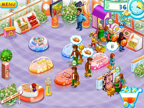 Supermarkt Mania für iPhone