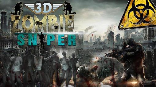 Zombie sniper shooting 3D скріншот 1
