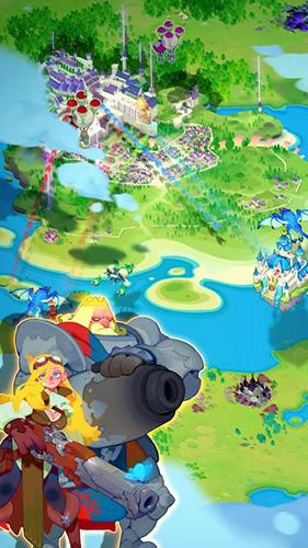 Online-Strategiespiele Sky kingdoms auf Deutsch