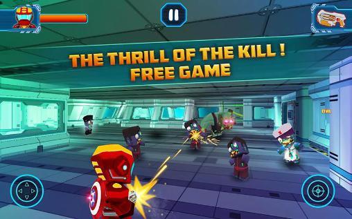 Action Captain strike zombie: Global Alliance. War clan für das Smartphone