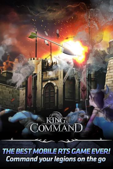 Online RPG King's command auf Deutsch