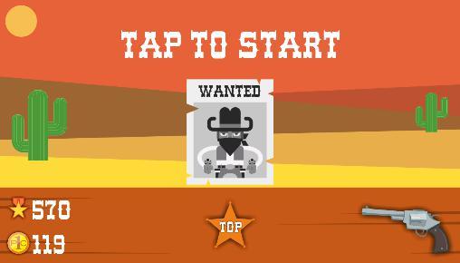 Juegos de arcade Wild cowboys para teléfono inteligente