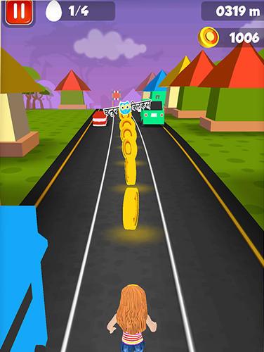 Arcade-Spiele Mo n Ki world dash für das Smartphone