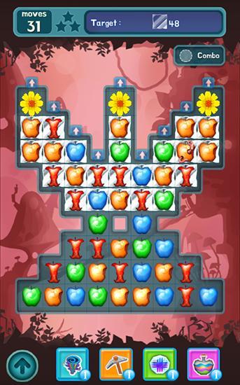 3 Gewinnt-Spiele Wicked Snow White auf Deutsch
