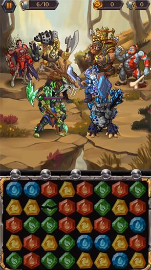 Heroes of puzzlestone für Android