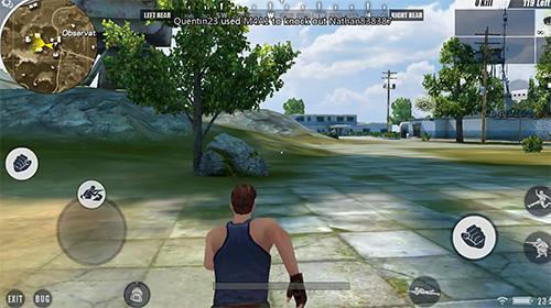 Screenshot Player unknown's battlegrounds on iPhone