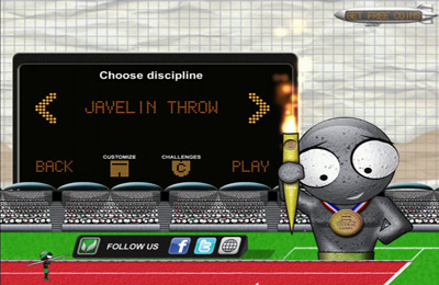 Screenshot Strichmännchens Spiel: Sommerausgabe auf dem iPhone