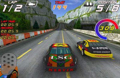 Screenshot Fahrer der Schnellstraße auf dem iPhone