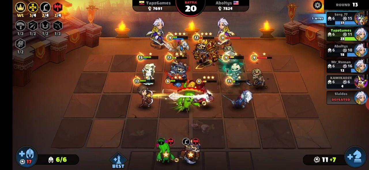 Android用 Auto Brawl Chess: Battle Royale