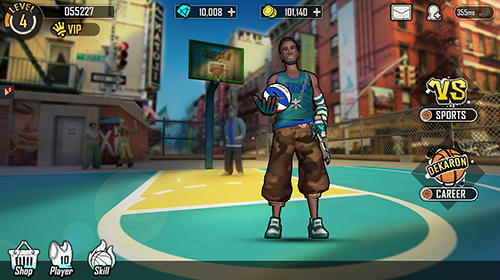 Street wars: Basketball captura de tela 3