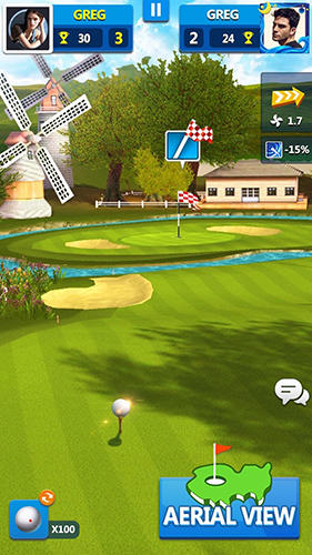 Golf master 3D capture d'écran 1
