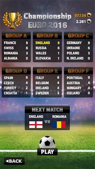 Fußballspiele Euro 2016: Soccer flick auf Deutsch