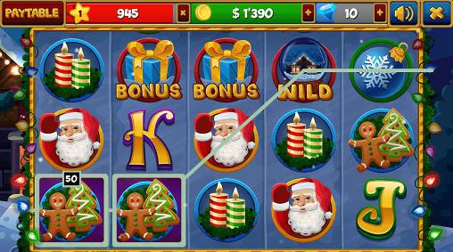 Christmas slots machines for Android