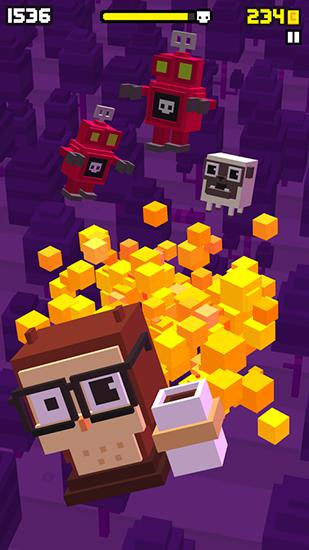 Shooty skies: Arcade flyer for Android
