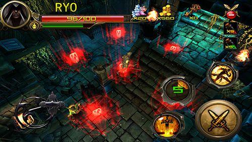Captura de pantalla Сazador de las mazmorras: Ninja asesino en iPhone