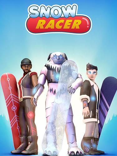 Snow racer: Mountain rush screenshot 1