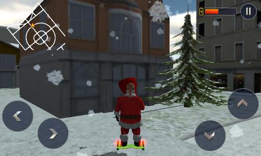 Hoverboard rider 3D: Santa Xmas für Android
