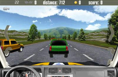 Screenshot Crazy Cars 2 on iPhone