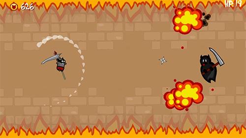 Ninja shurican: Rage game für Android