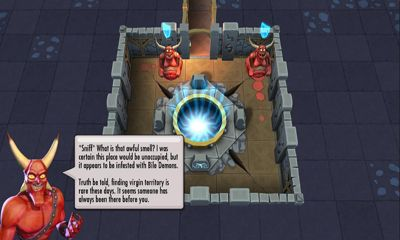 RPG Dungeon keeper pour smartphone