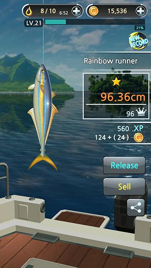 Fishing hook für Android