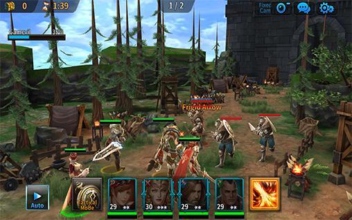 RPG-Spiele: Lade Königreich des Krieges auf dein Handy herunter