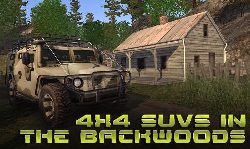 4x4 SUVs in the backwoods capture d'écran 1