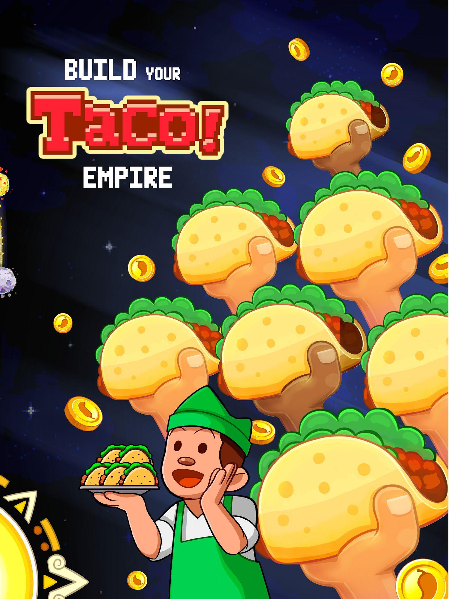 Mucho Taco - idle tycoon スクリーンショット1
