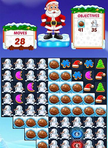 3 Gewinnt-Spiele Christmas cookie auf Deutsch