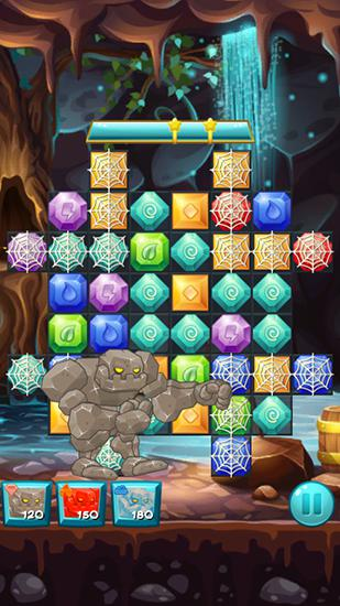 Elemental jewels: Match 3 game für Android