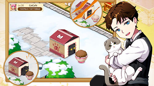 Arcade Line cat cafe für das Smartphone