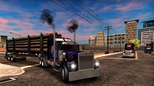 Truck simulator USA screenshot 1