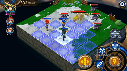 Blazing sword: SRPG tactics screenshot 1