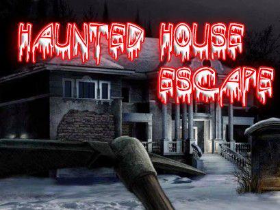 Haunted house escape screenshots