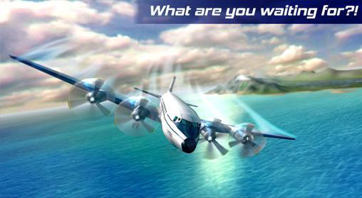 Real pilot flight simulator 3D auf Deutsch