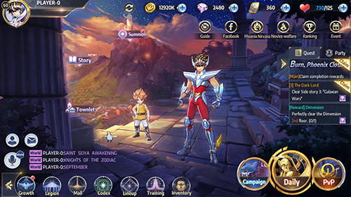 Saint Seiya awakening: Knights of the zodiac para Android