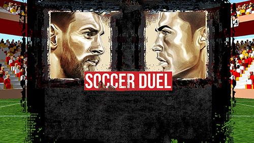 Soccer duel screenshots