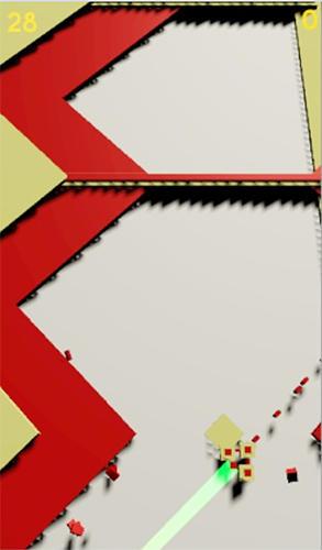 Arcade-Spiele Quick cross: A smooth, beautiful, quick game für das Smartphone