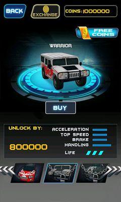 Arcade Death Racing 2 Desert für das Smartphone
