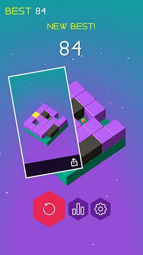 Logikspiele Slide cube! für das Smartphone