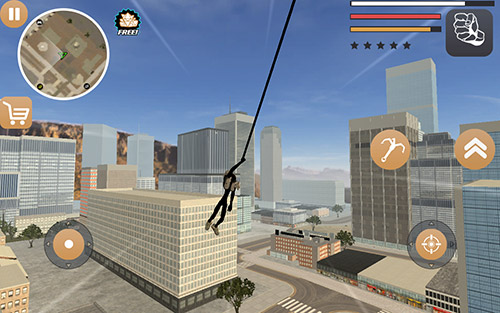 Stickman rope hero 2 для Android