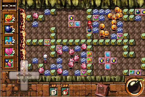 Le Coup de Bomberman 2: la soirée volcanique pour iPhone gratuitement