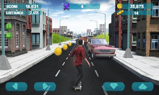 Arcade Street skater 3D 2 für das Smartphone
