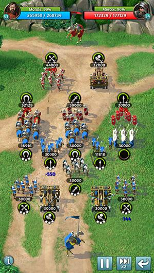 Online Strategy games March of empires in English