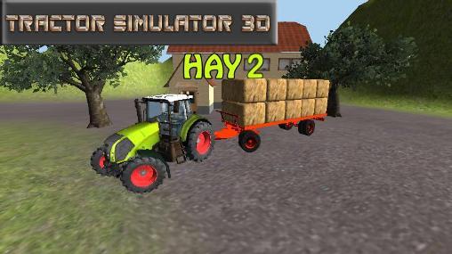 Tractor simulator 3D: Hay 2 captura de tela 1