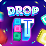 Drop it! Crazy color puzzle Symbol