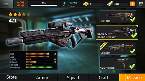Actionspiele Commando fire go: Armed FPS sniper shooting game für das Smartphone