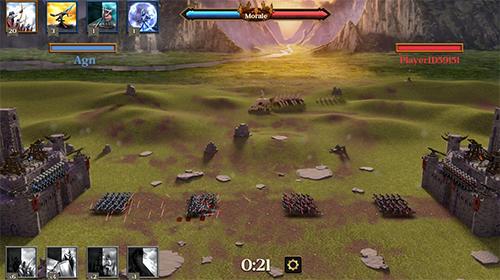 Onlinespiele Arrow master: Castle wars für das Smartphone